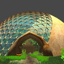 100' Geodesic Dome for Aquaponics