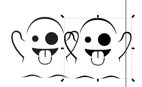 Picture of Drawing to Inkscape .svg