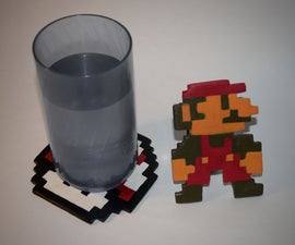 8-Bit Coasters