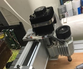 3040 CNC Engraver / Mill Motor Heatsinks