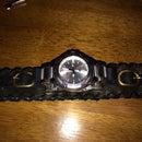 Adjustable Leather Watch Cuff
