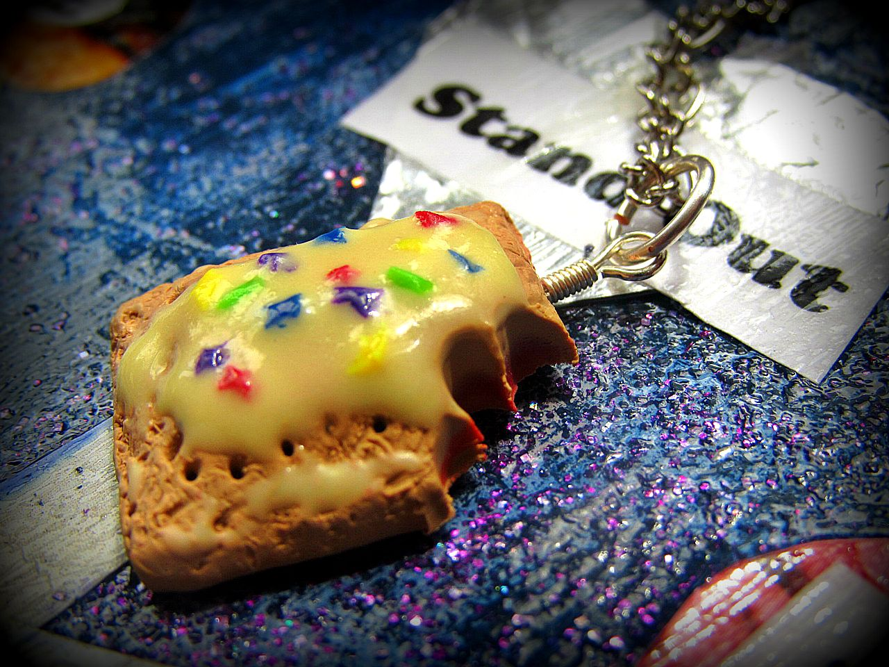 Picture of How to Make a Pop-Tart Charm!