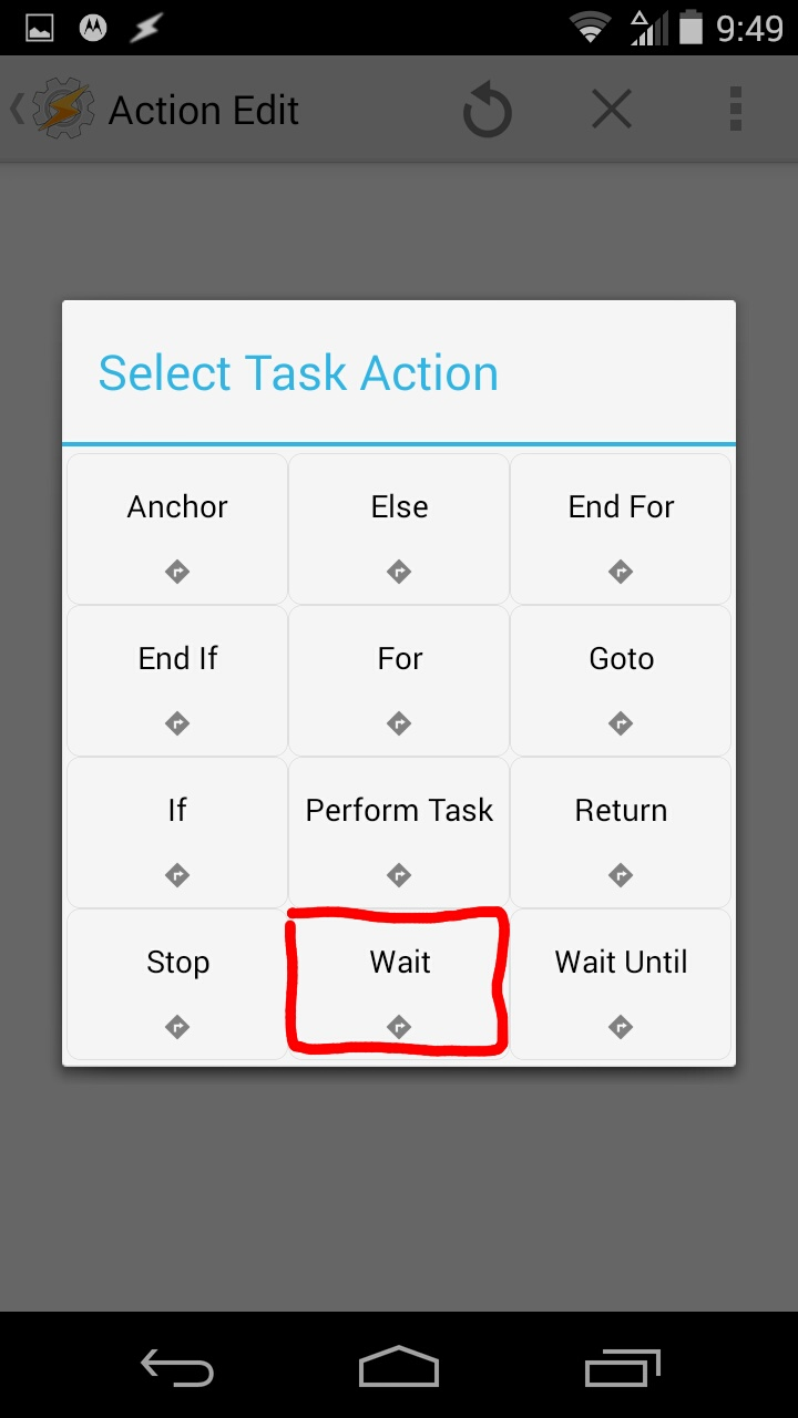 Picture of Wait Function
