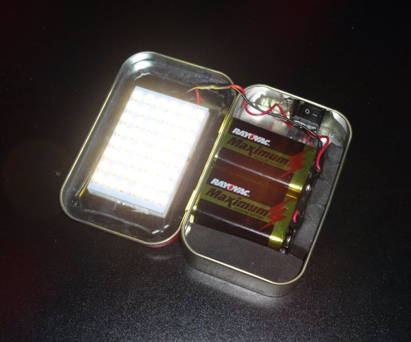 Altoids Flashlight - or Glowing Treasure Chest!
