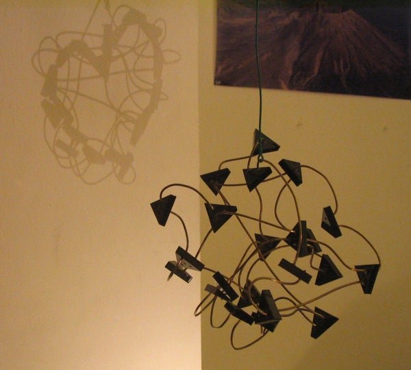 Secret Image Shadow & Light Sculpture