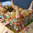 Castle Cake (Destroy your food and eat it)