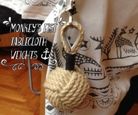 Monkey's Fist Tablecloth Weights