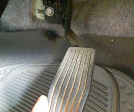 Fixing a Slack Gas Pedal.