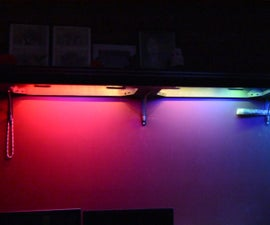 Shelf Accent Lighting with Arduino, Smartthings and LED Strips