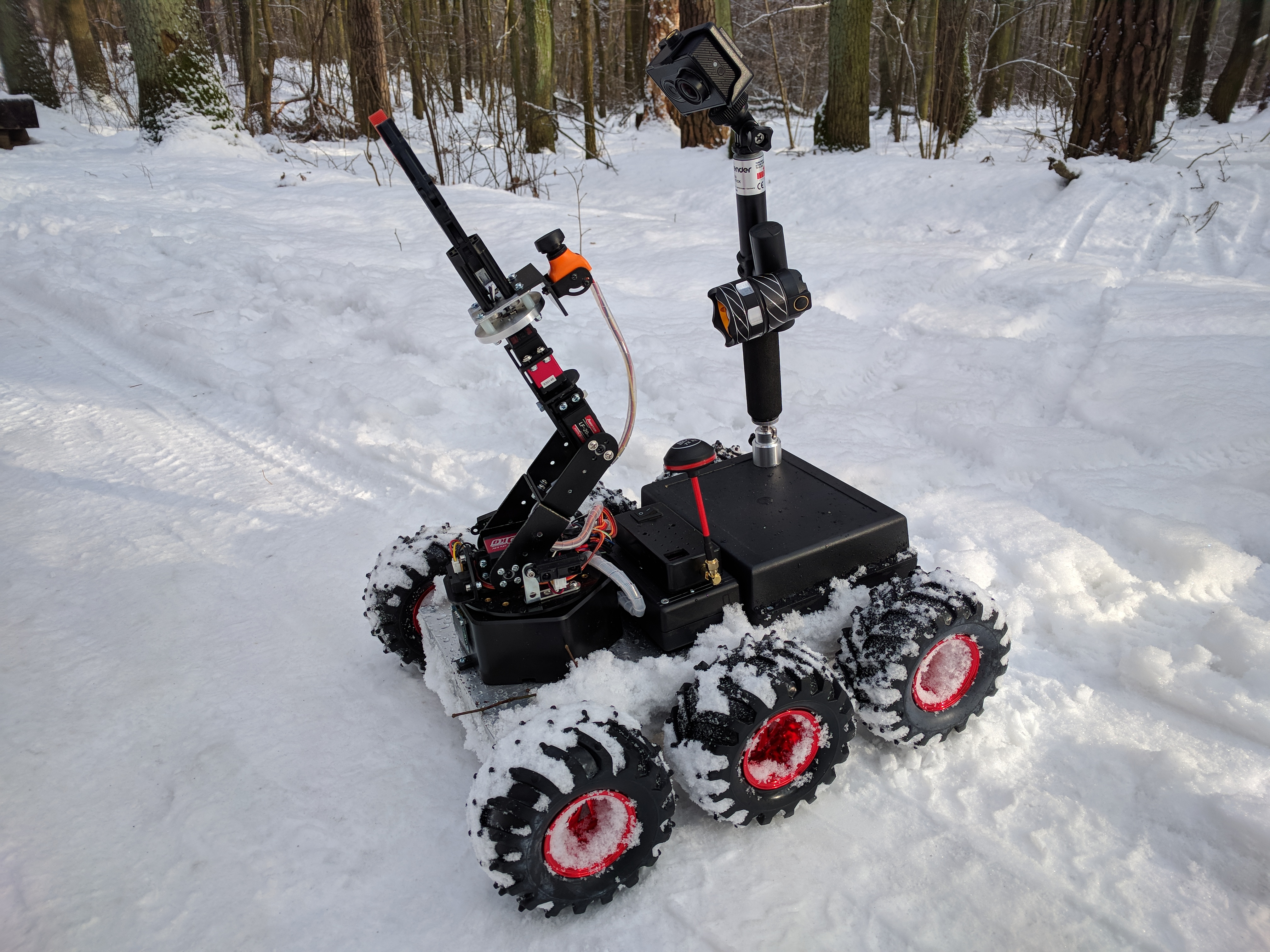 Picture of Remote Controlled 6WD All Terrain Robot