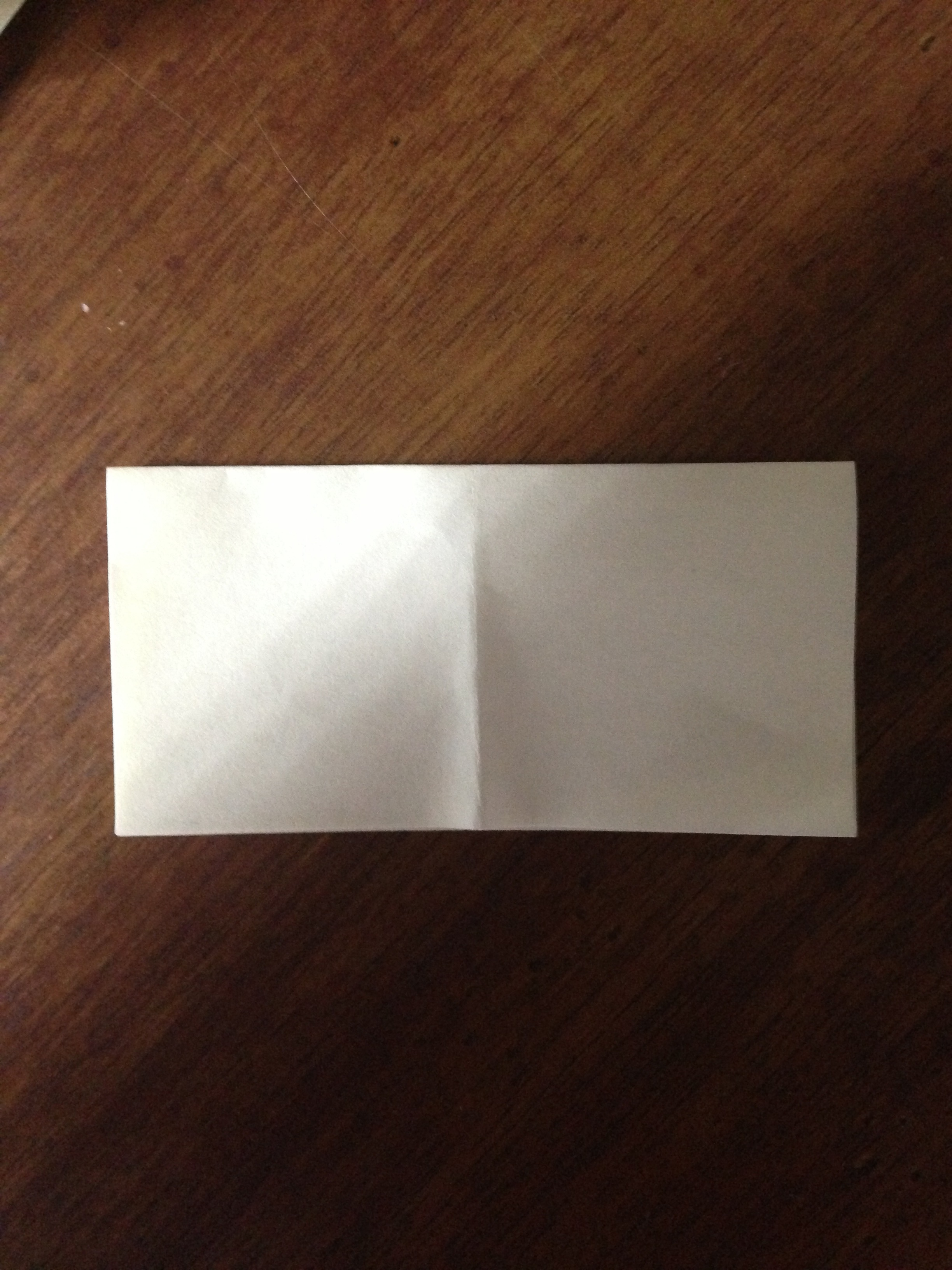 Picture of Fold in Half Other Way