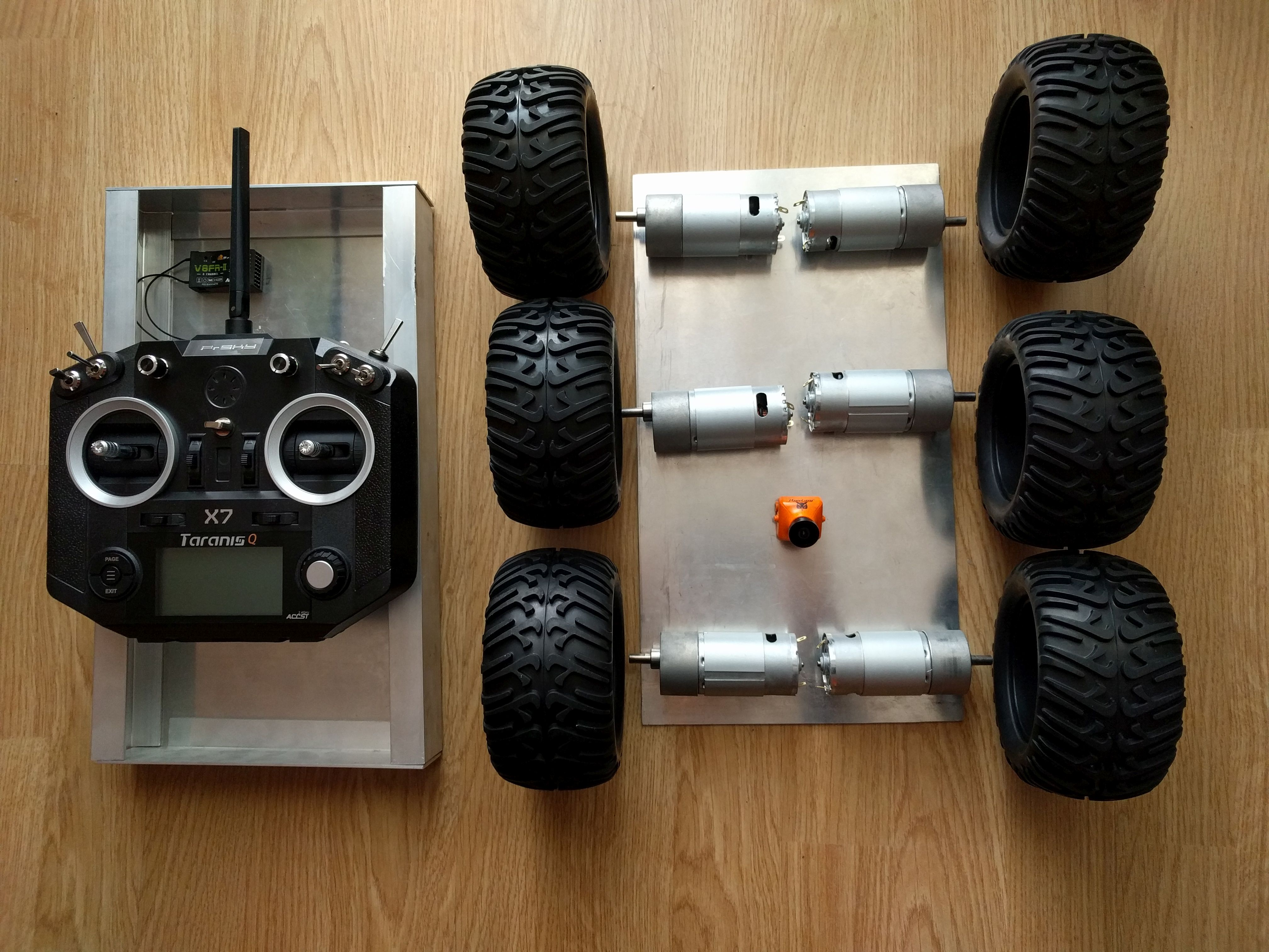 Picture of Assembling the Robot Chassis