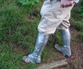 Duct Tape Hiking Gaiters