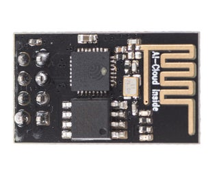 Flash AT Command Firmware to ESP01 Module (requires a USB to TTL Adapter)
