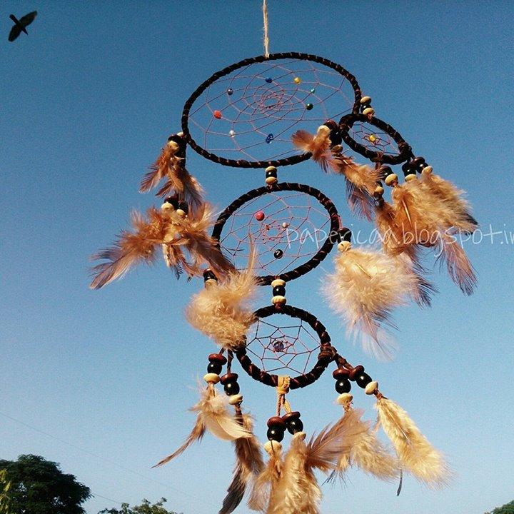 Picture of Leather Dream Catcher