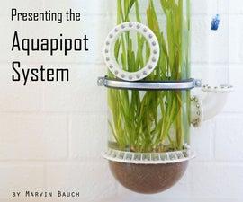 Aquapipot: Waterplanter, Aquatic Flowerpot, Aquarium, Pipe Structure - Difficult to Describe, Just Look.