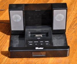 Low Budget Stereo Amp From an Ipod Dock, Reuse, Recycle!