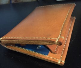 My First Real Leather Wallet