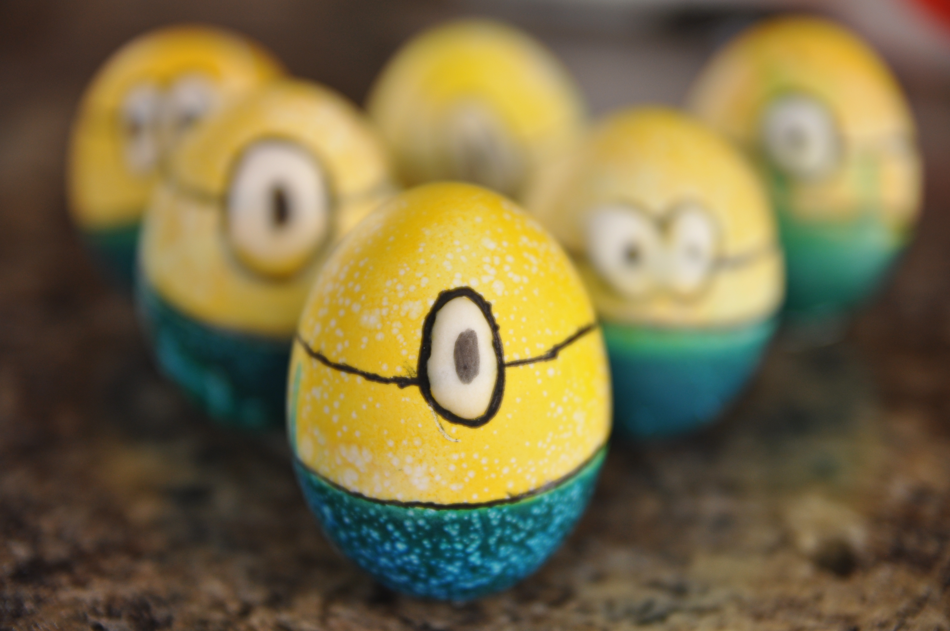 How to Make Minion Easter Eggs - All