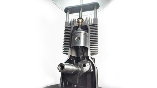 Small Engine Lamp