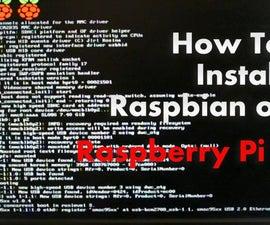 How to Install and configure Raspbian on Raspberry Pi 2 (Linux/windows/mac)