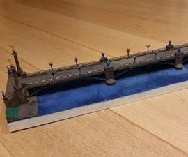 """3D Printed """"Fragnée"""" Bridge"""