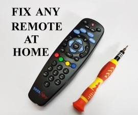 How to Fix Any Remote at Home