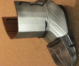Cardboard Armour for Feet