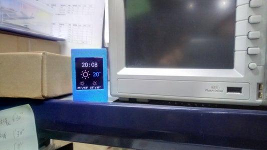 ESP8266 Weather Clock