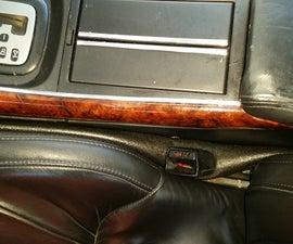 Easy $1 Car Seat Gap Filler
