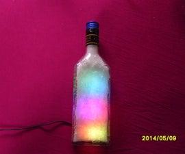 color changing bottle lamp