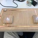 Wooden LED Lamp