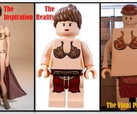 Princess Leia Lego Costume