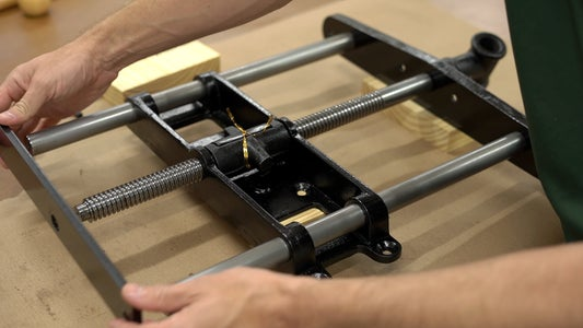Disassembly the Vise Hardware