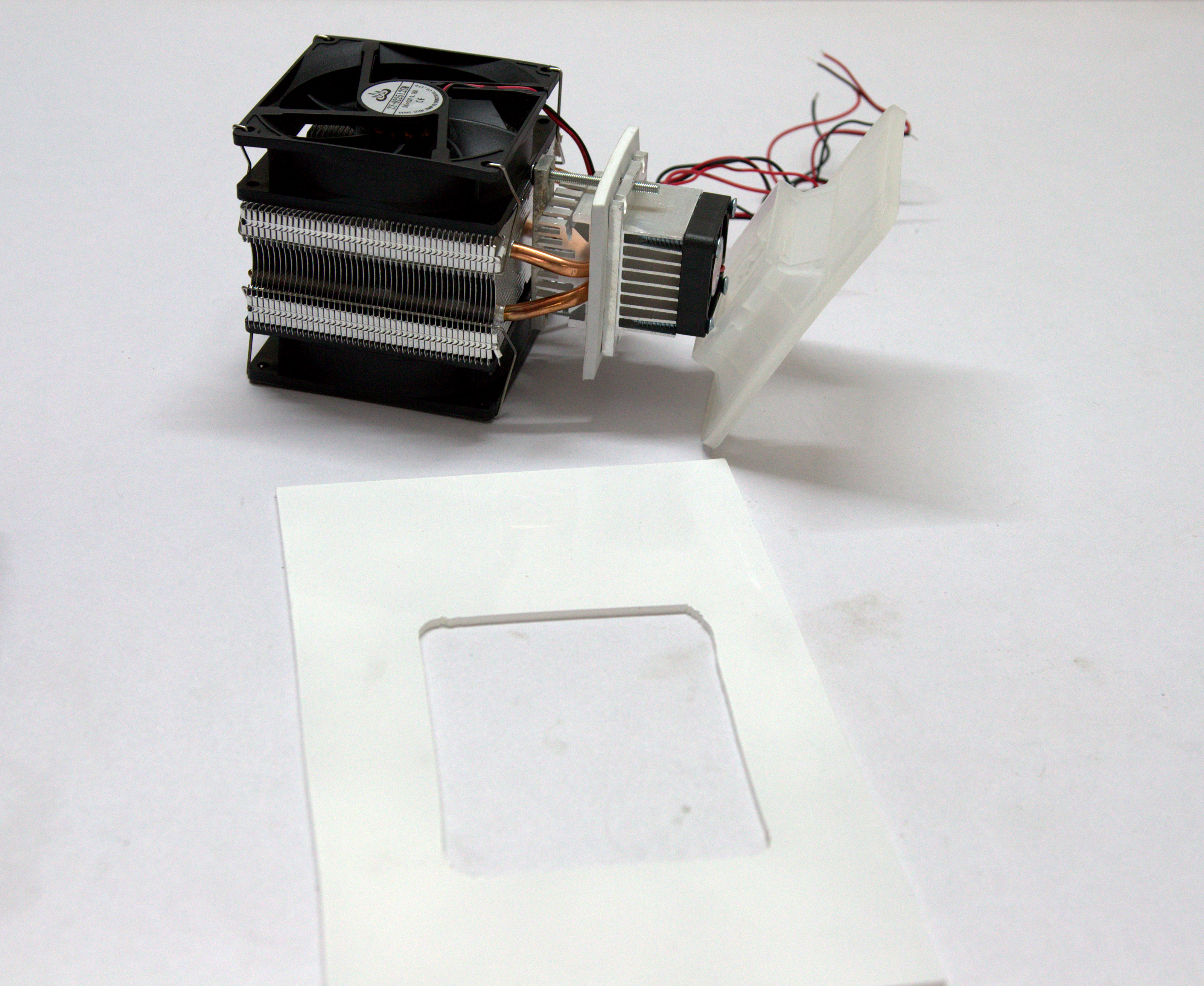 Picture of Glue the Cooler Unit