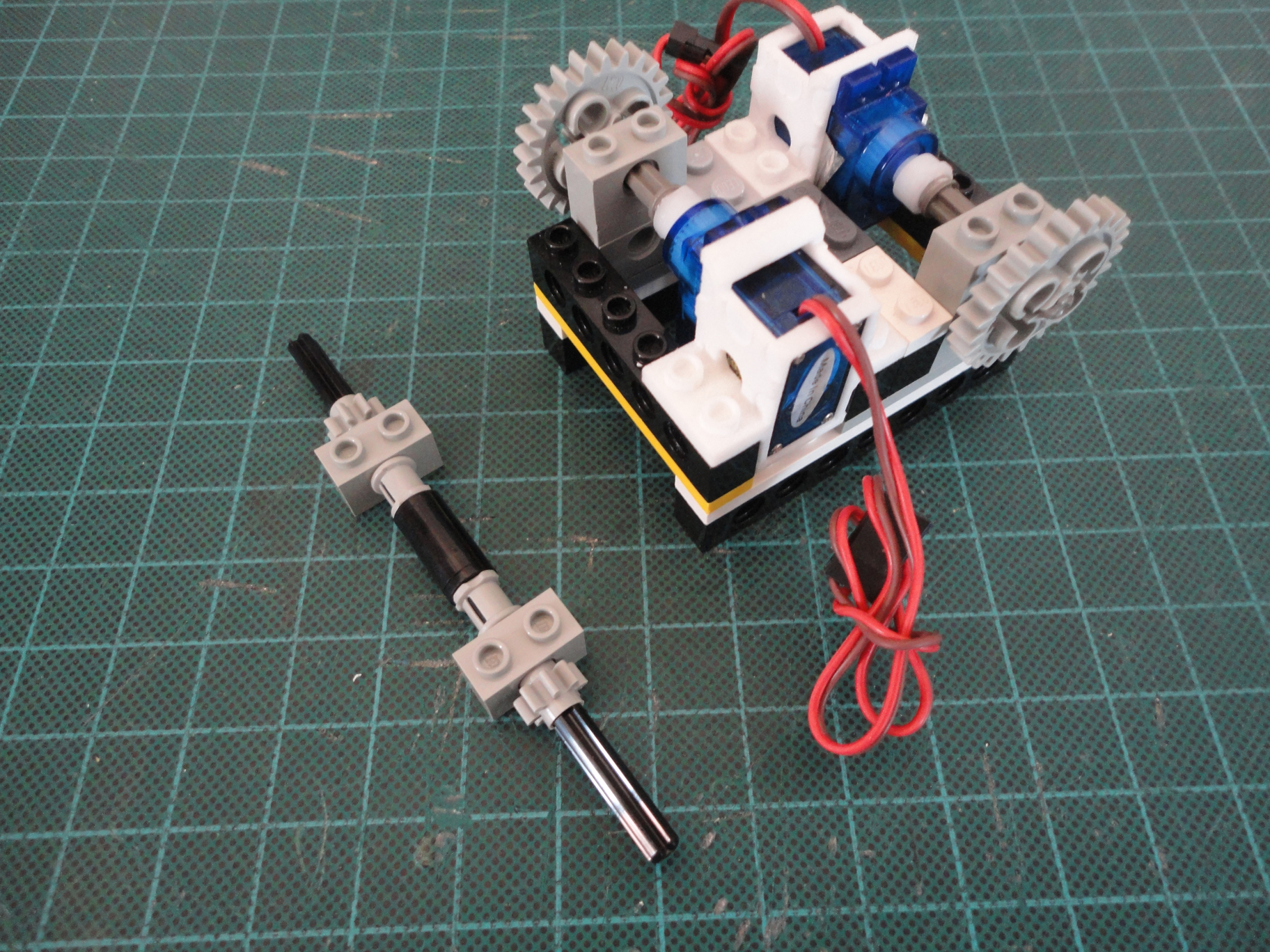 Picture of Motor Encasement (Cont.)
