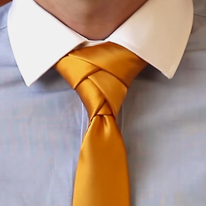 Picture of HOW TO TIE a ELDREDGE KNOT
