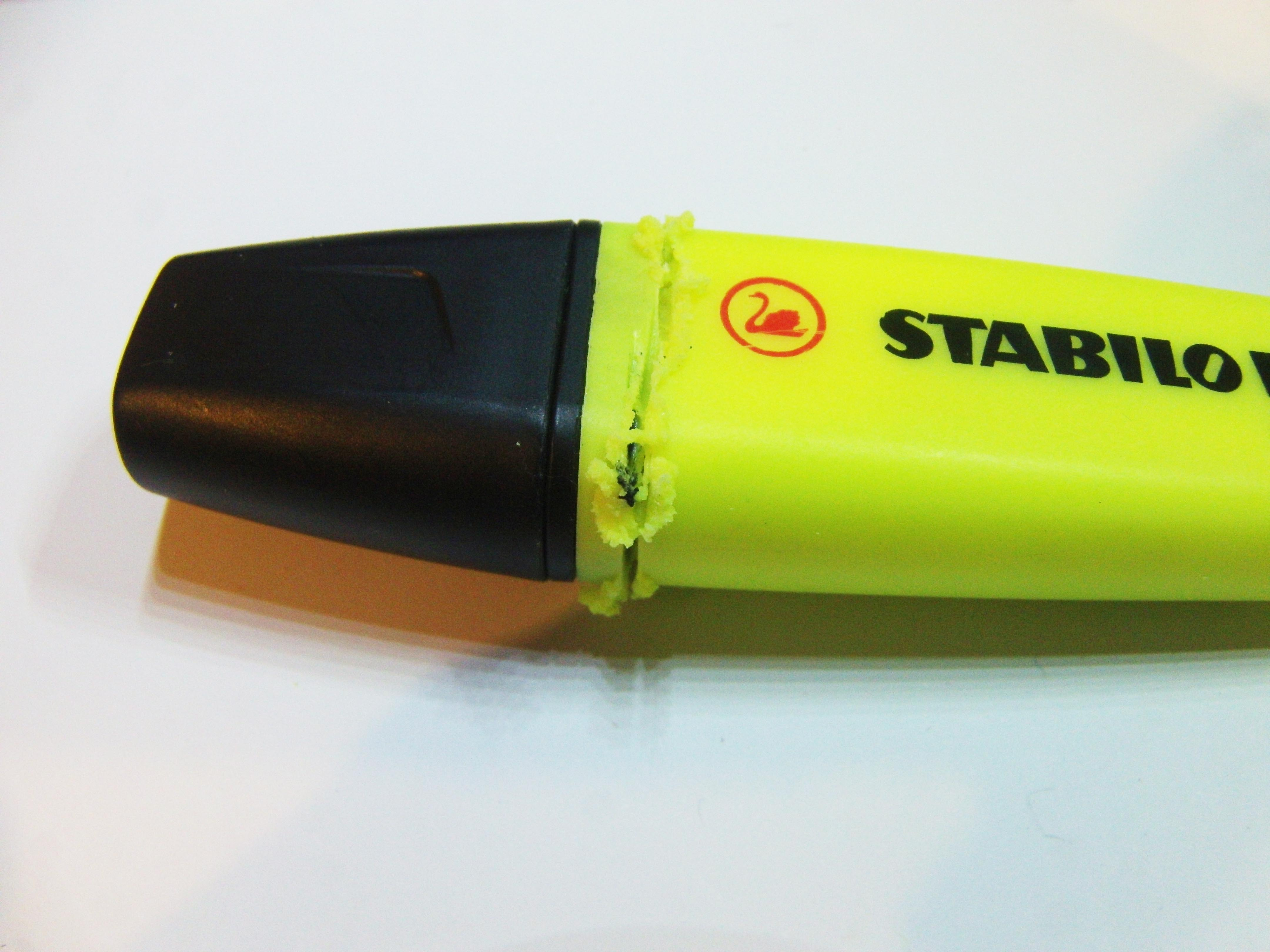 Picture of Getting the Highlighter Ready