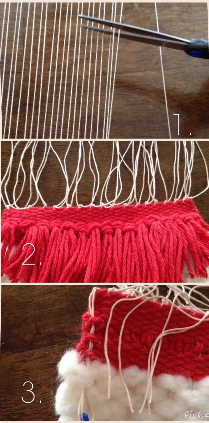 Picture of Taking the Tapestry Off the Loom
