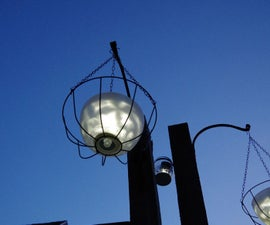 Hanging Solar Light Using Glass Chandelier Bowls and Dollar Store Items!