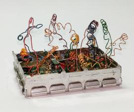 Amazing Modern Art From Broken Electronics