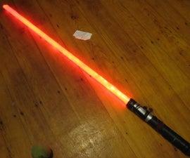 Make your own lightsaber!