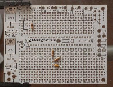 Resistors and Cap
