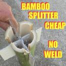 Bamboo Splitter - No Weld - Cheap