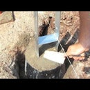 HOW TO MAKE CONCRETE FOOTING FOR GARAGE,DECK,POSTS,CAR PORT,CANOPY,PORCH,H-ANCHORS FOUNDATION