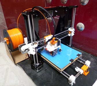 Building Prusa I3 3D Printer With Direct Extruder