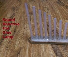 Sound Reactive Hot Glue Lamp (VU Meter, Arduino)