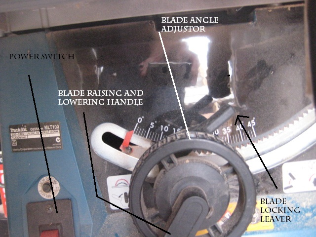 Picture of Adjust the Table Saw Blade