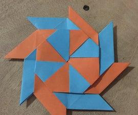 8-Pointed Origami Transforming Shuriken