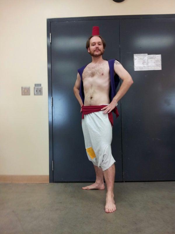 $5 One Jump Aladdin Costume